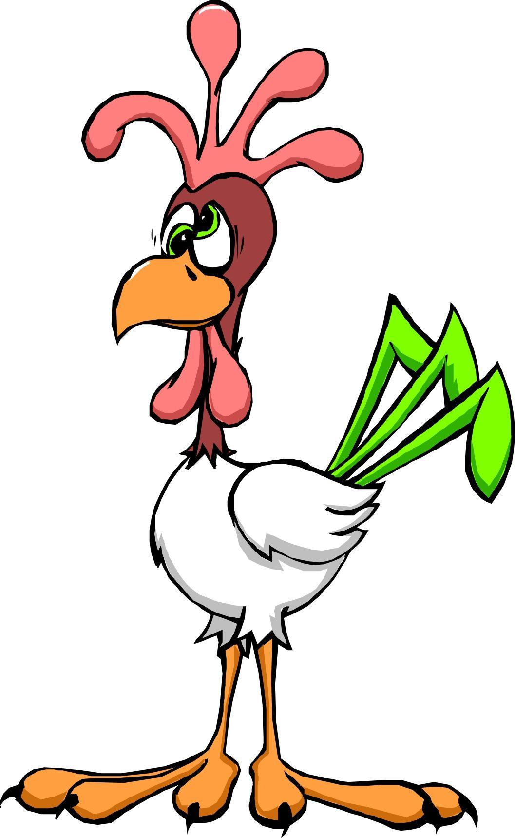 Cartoon Chickens.