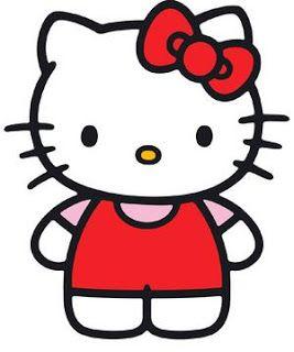 Cartoon Clipart: Hello Kitty Cartoon Clip Art.