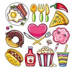 11 Best Cartoon food images in 2013.