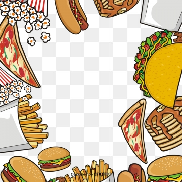 Cartoon Fast Food Png, Vector, PSD, and Clipart With Transparent.