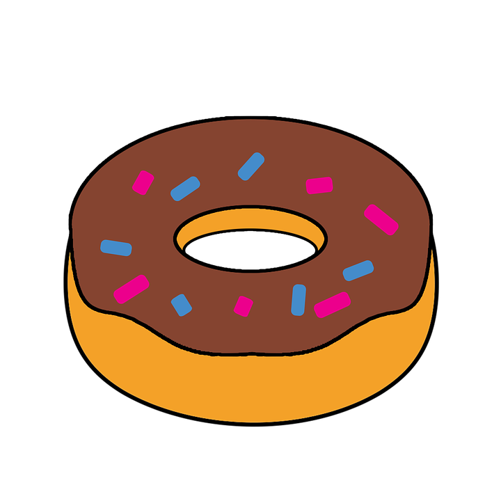 Doughnut Clipart Food.
