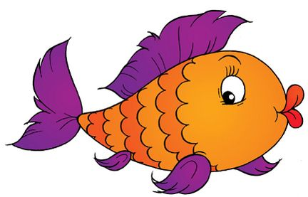 Cartoon Picture Of A Fish.