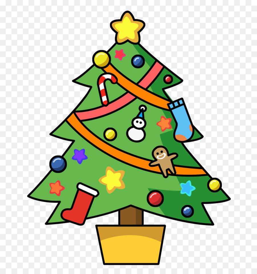 Christmas Decorations Cartoon clipart.
