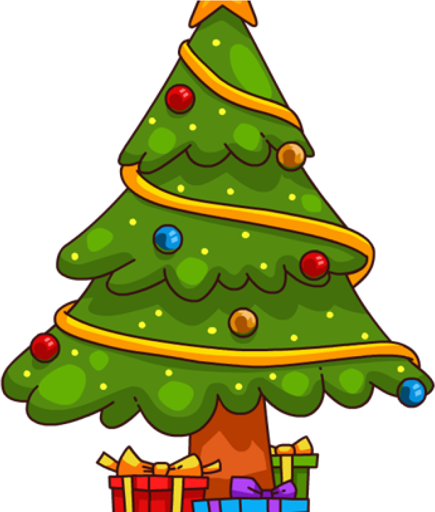 Clip Art Christmas Tree You Can Use This Cute Cartoon.