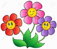Flower Cartoon Clipart at GetDrawings.com.