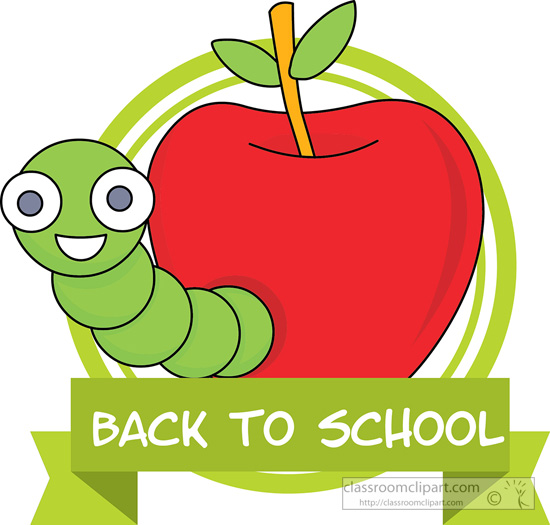 cartoon clipart for school.