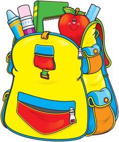 cartoon clipart for school.