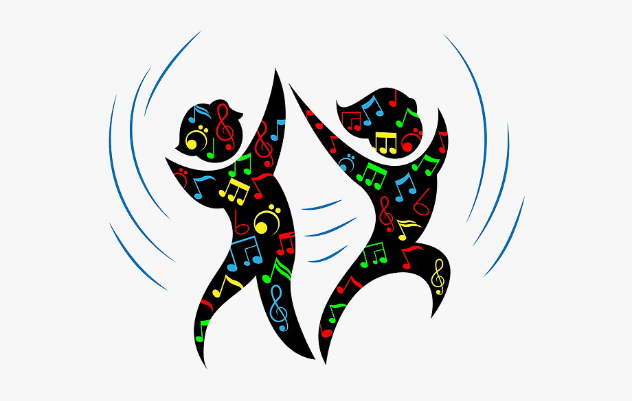 Music And Dance Cartoon Clipart , Png Download.