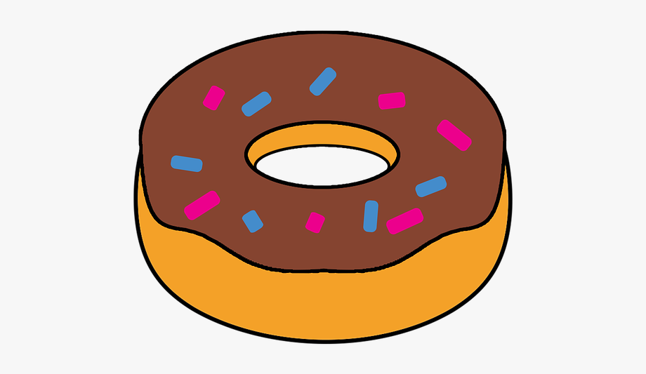 Doughnut Clipart Food Snack Fast.