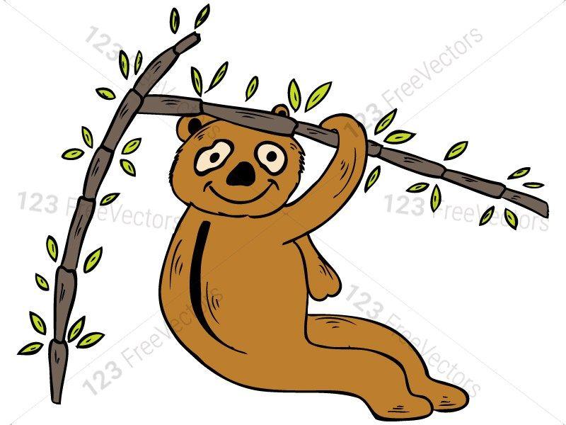 Cartoon Panda Bears Vector and Photoshop Brush Pack.