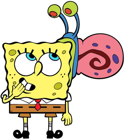Spongebob Squarepants Clip Art.