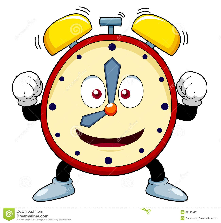 Cartoon Clock Stock Illustrations.