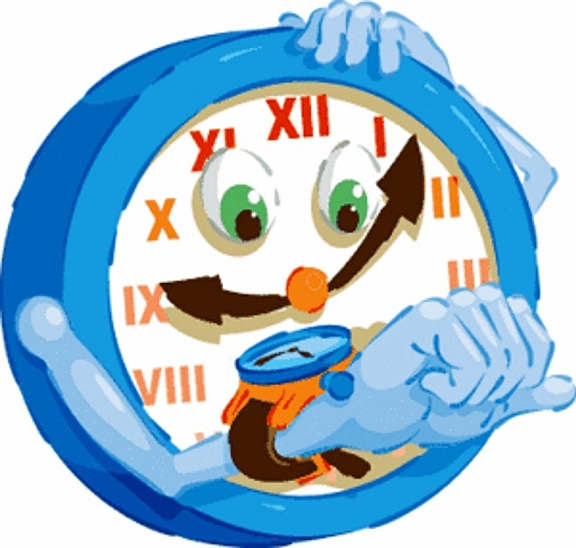 Cartoon Clock.