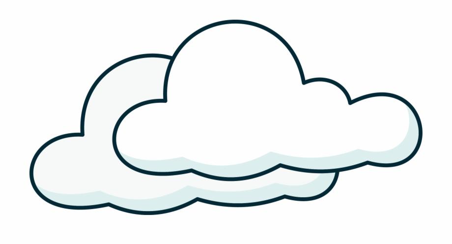 Cartoon Clouds Png.