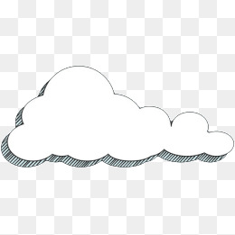 Hand Painted Cartoon Clouds Png, Vector, PSD, and Clipart With.