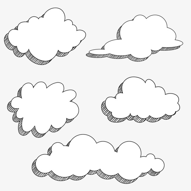 Cartoon Clouds, Cartoon Clipart, Cloud PNG Transparent Image and.