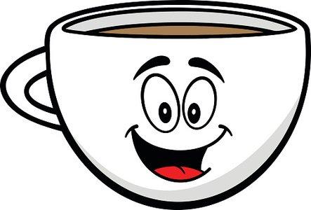 Coffee Cup Mascot stock vectors.