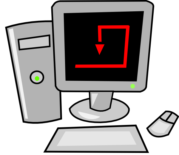 Free Cartoon Computer, Download Free Clip Art, Free Clip Art.