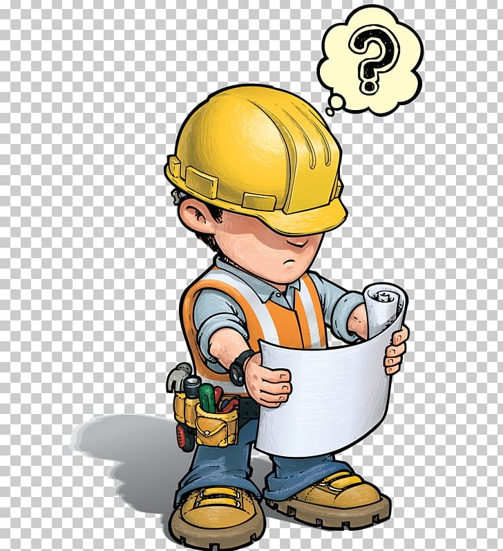 Construction Worker Architectural Engineering Cartoon PNG, Clipart.