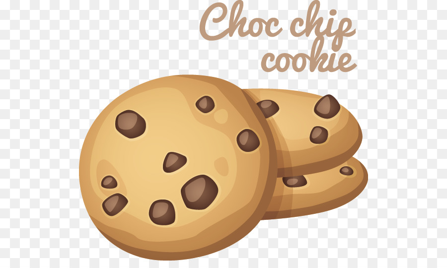 Chocolate Chip Cookie Cartoon Clip Art Cookies Png Download 582.