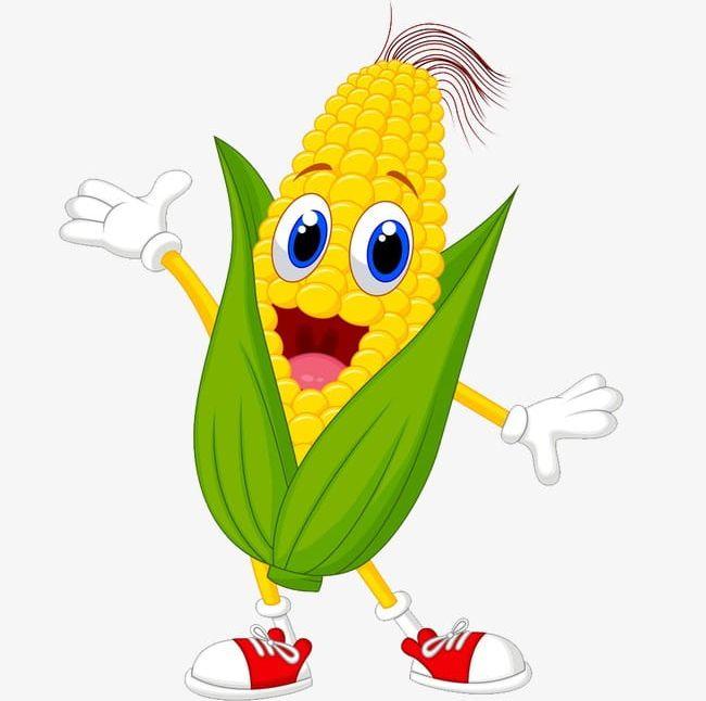 Cartoon Corn PNG, Clipart, Cartoon, Cartoon Clipart, Cartoon Clipart.