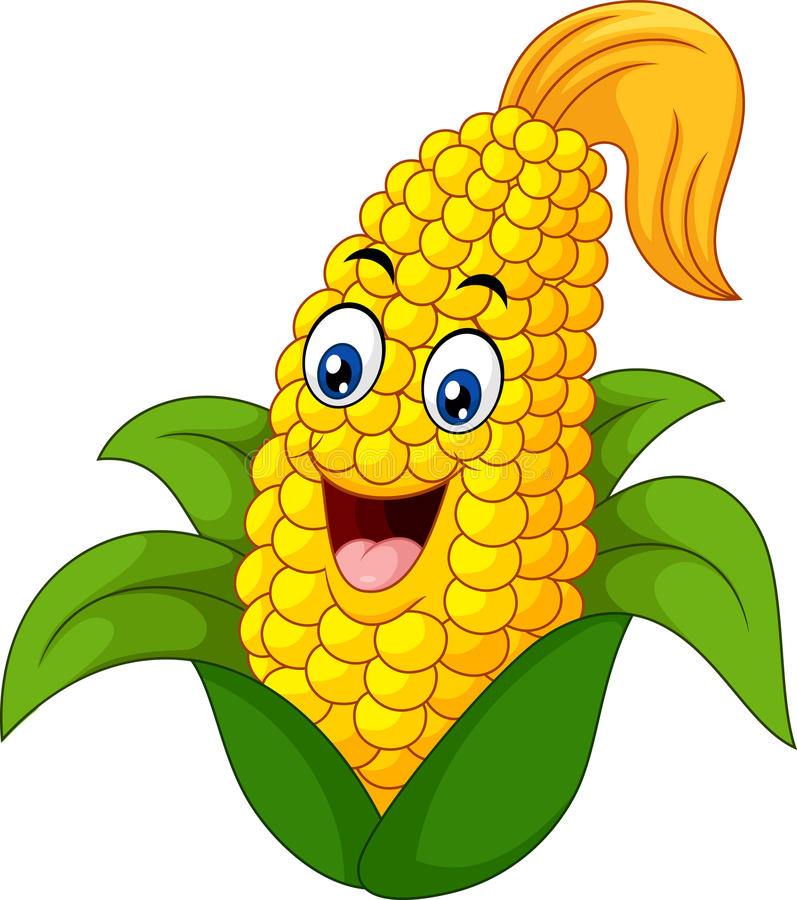 Cartoon Corn Stock Illustrations.