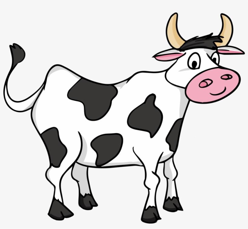 Jpg Free Library Cartoon Cow Clipart.