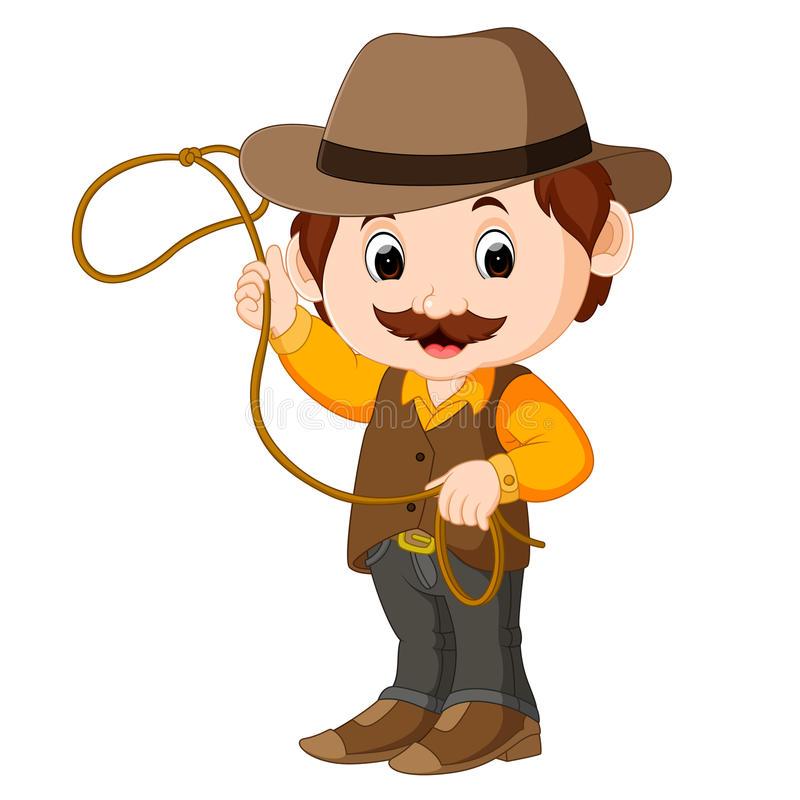 Cartoon Cowboy Stock Illustrations.