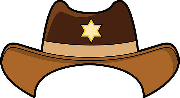 Best Cowboy Hat Illustrations, Royalty.