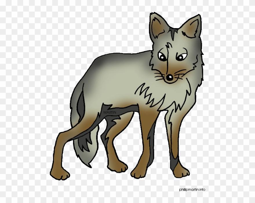 Cute Cartoon Coyotes Clipart (#1229194).