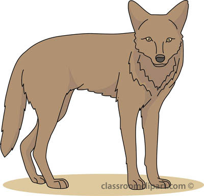 From: Coyote Clipart.