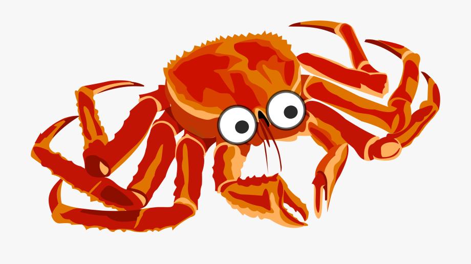 Crab Clipart Pink Crab.