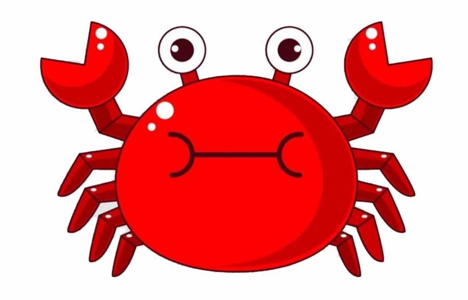 Cartoon Crab Png.
