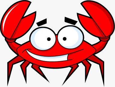 Cartoon Crab, Cartoon Clipart, Crab, Crabs PNG Transparent Image and.