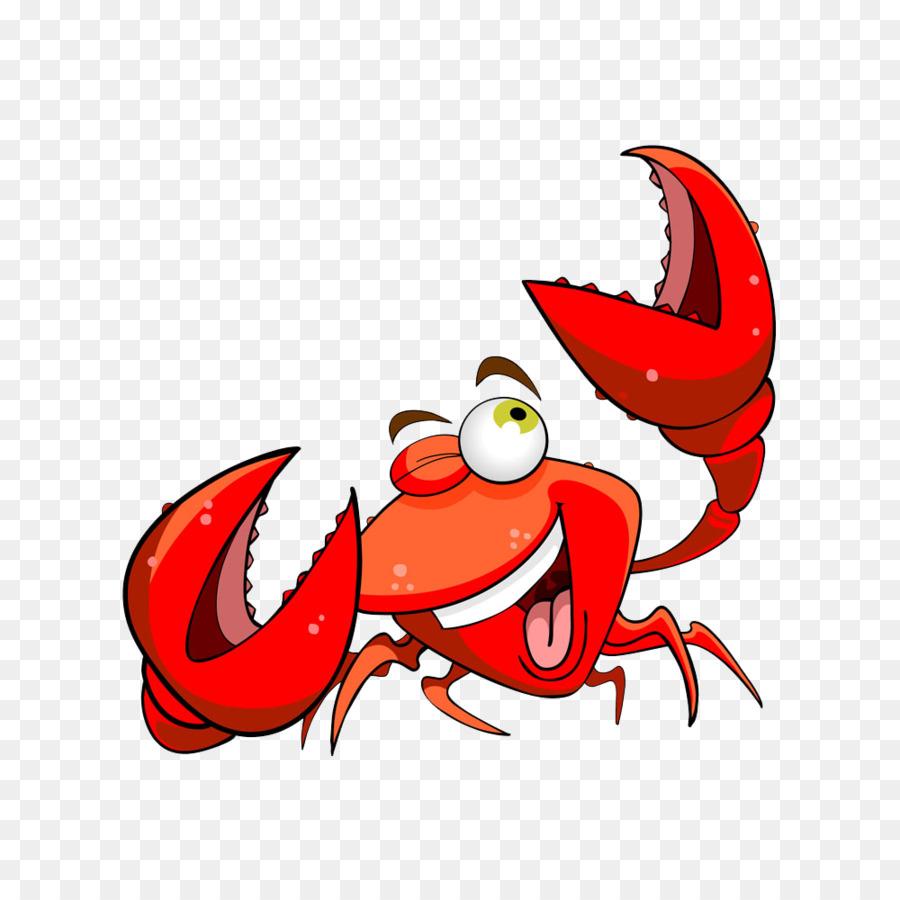 Crab Cartoon Seafood.