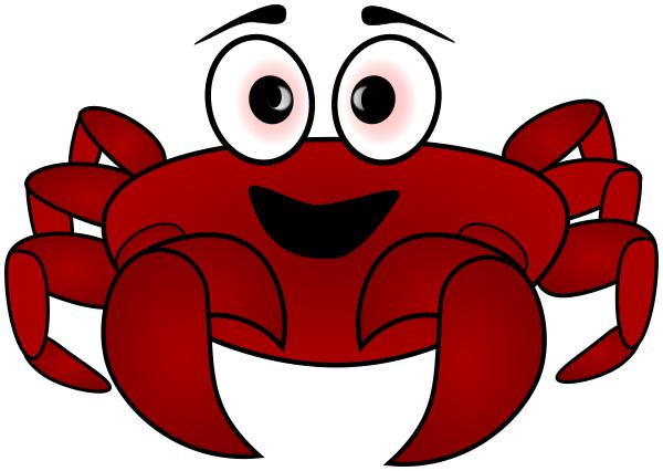 Crab Cartoon Png Vector, Clipart, PSD.