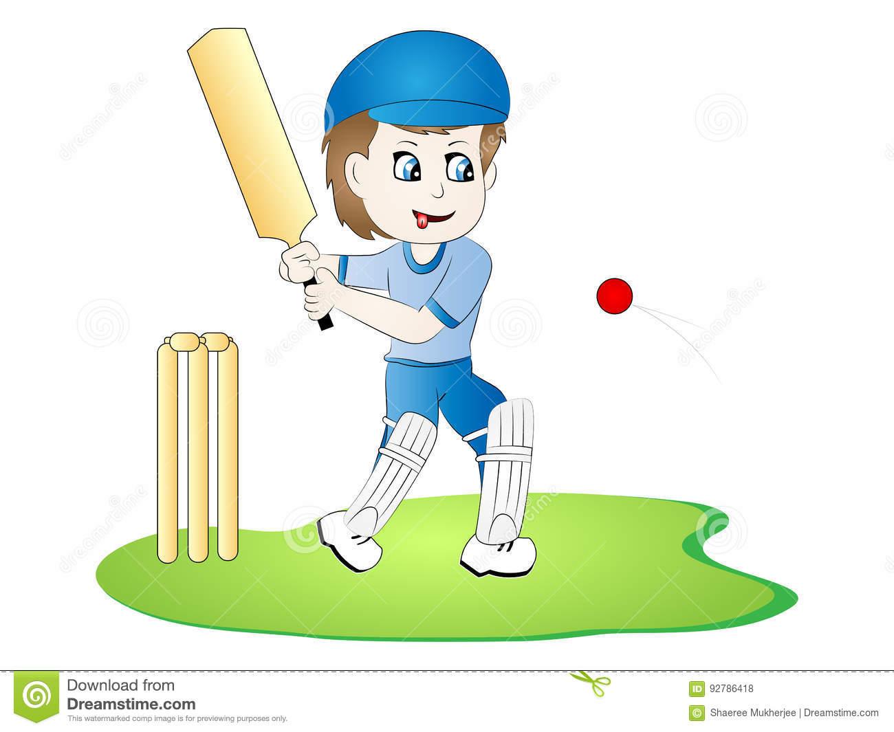 Cartoon cricket clipart 2 » Clipart Station.