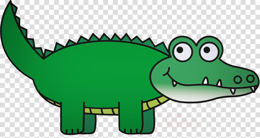 green crocodile cartoon clip art crocodilia clipart.