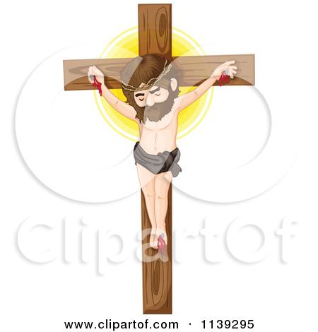 Cartoon Of Jesus Christ On The Cross 2.