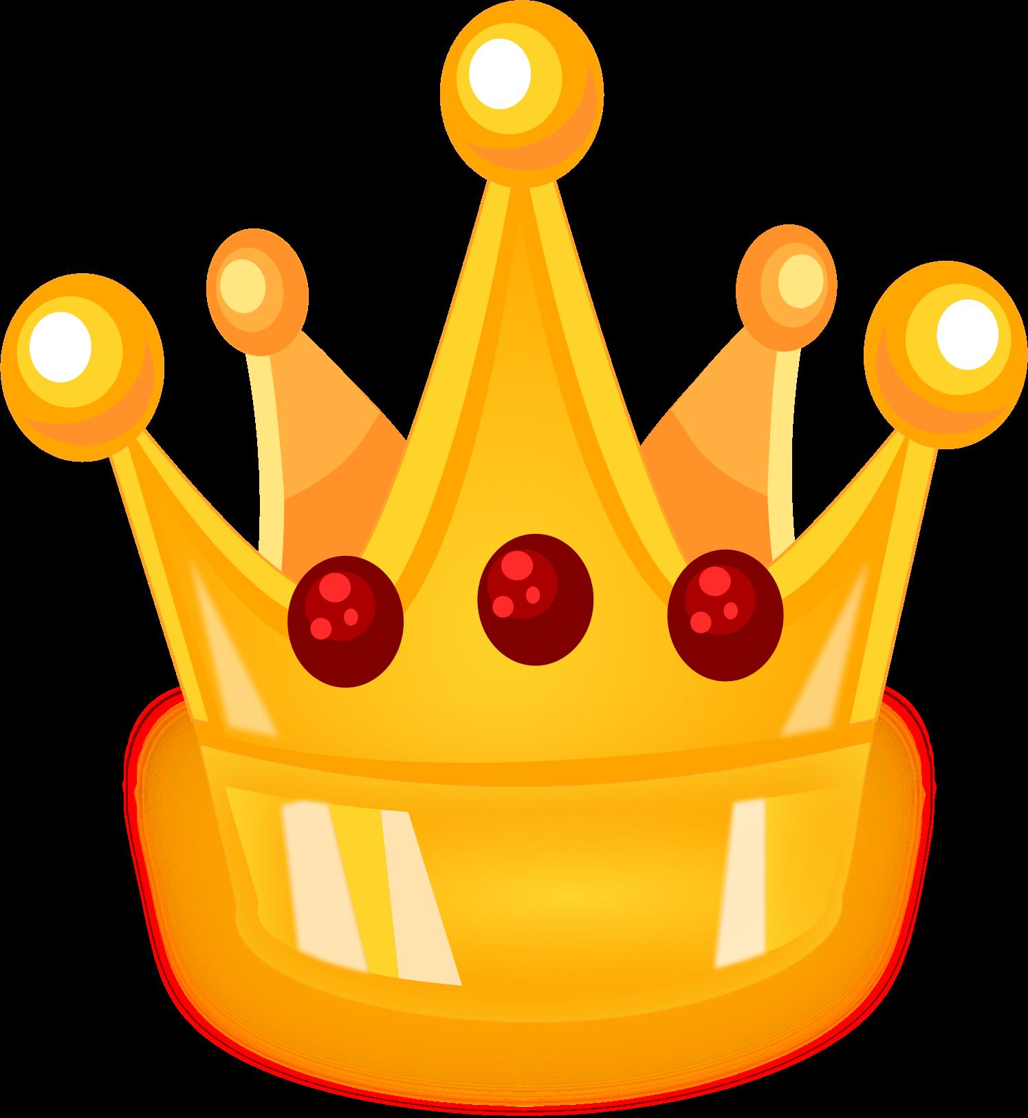 HD Cartoon Crown Transparent Png.