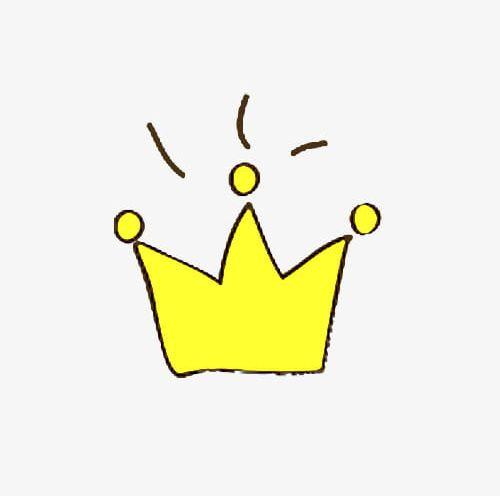 Cartoon Hand Painted Crown PNG, Clipart, Cartoon, Cartoon Clipart.