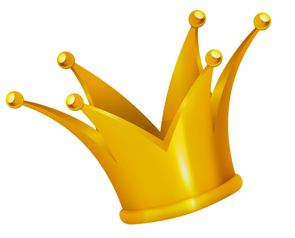 Gold Crown Clipart Picture.