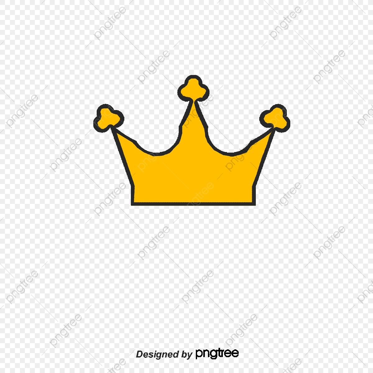 Cartoon Crown, Crown Clipart, Vector Png, An Crown PNG and Vector.