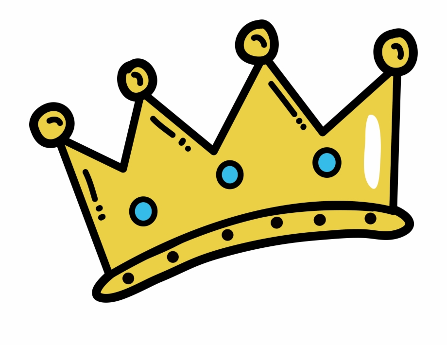 Cartoon Crown Png.