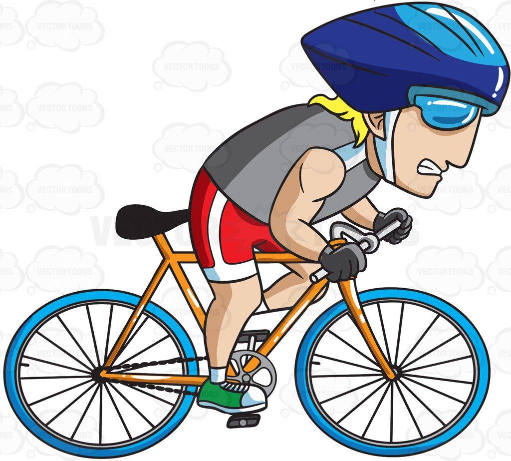 cycling Clipart Cartoon Images_vectortoons.