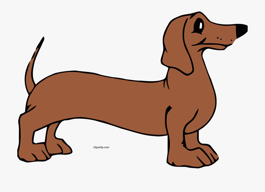 Dog Tall Wait Clipart Png.