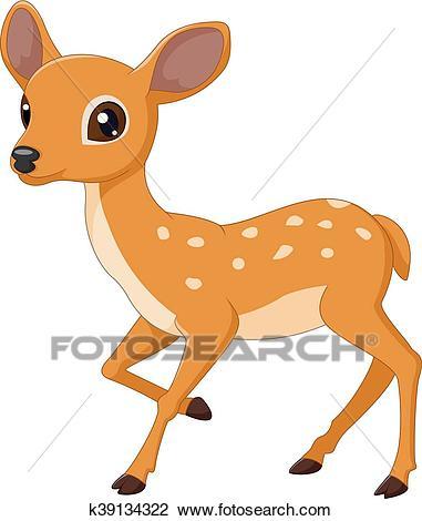 Mouse Deer cartoon Clipart.