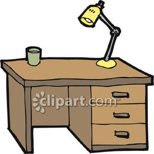 Clipart of a desk.