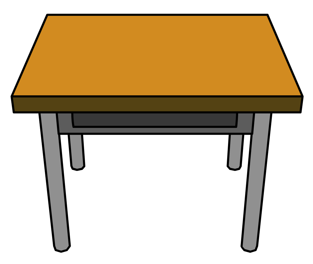 Clipart desk.