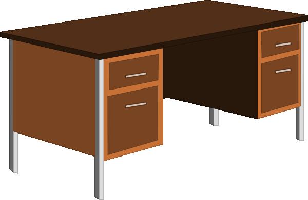 Desk Clipart.